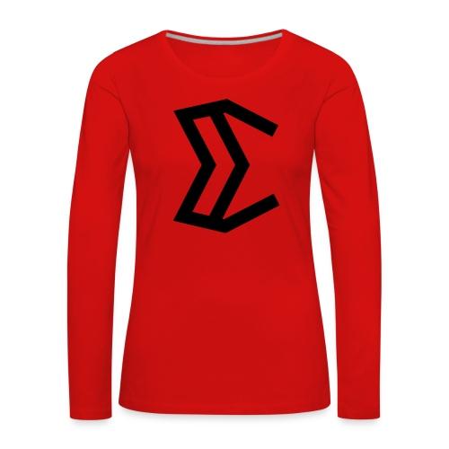E - Women's Premium Longsleeve Shirt