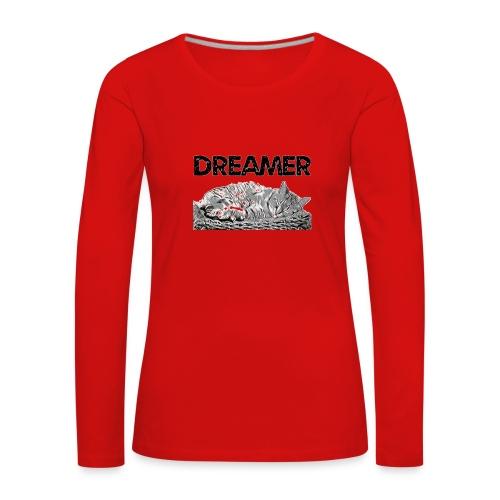 Dreamer - Maglietta Premium a manica lunga da donna
