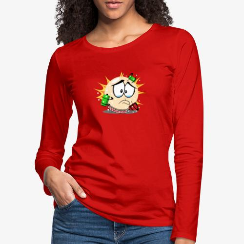 Worried BB - T-shirt manches longues Premium Femme