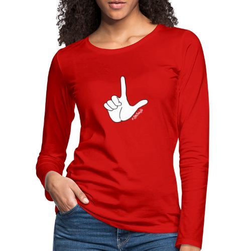 DedoBigEla - Camiseta de manga larga premium mujer
