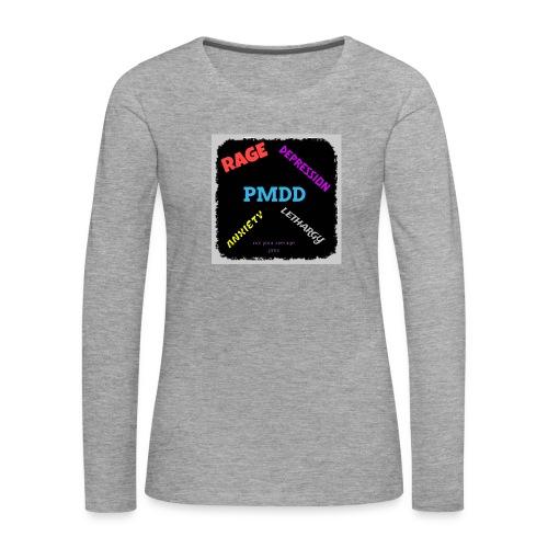 Pmdd symptoms - Women's Premium Longsleeve Shirt