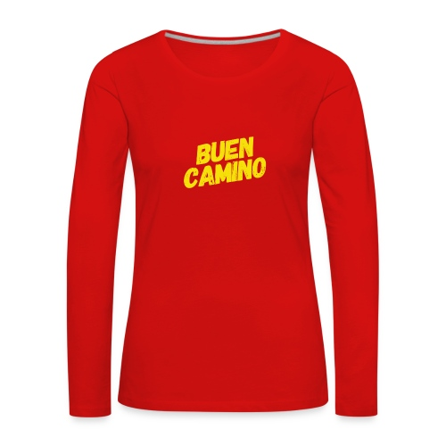 Buen Camino - Frauen Premium Langarmshirt
