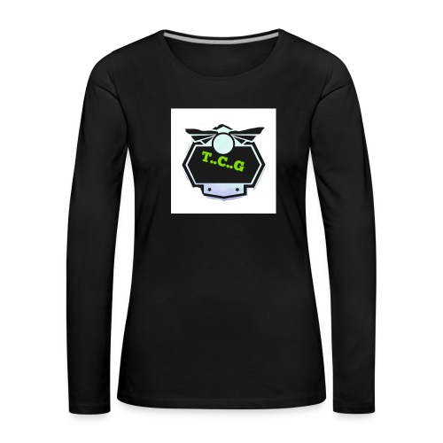Cool gamer logo - Women's Premium Longsleeve Shirt
