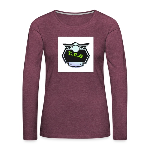Cool gamer logo - Women's Premium Longsleeve Shirt