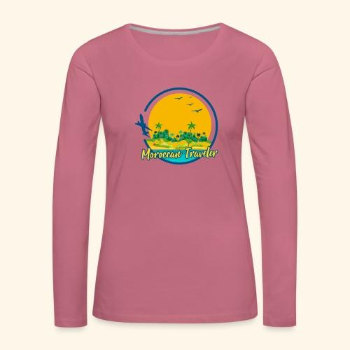 Moroccan Traveler - T-shirt manches longues Premium Femme