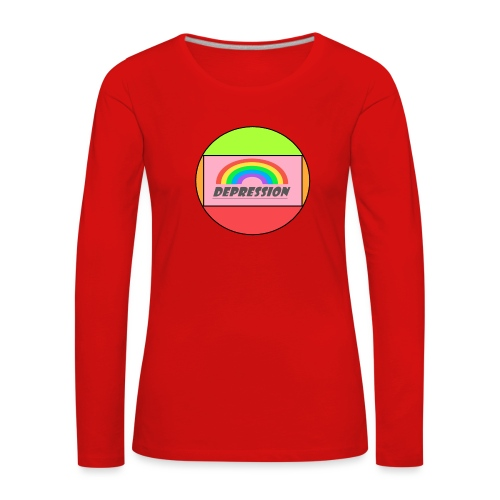 Depressed design - Women's Premium Longsleeve Shirt