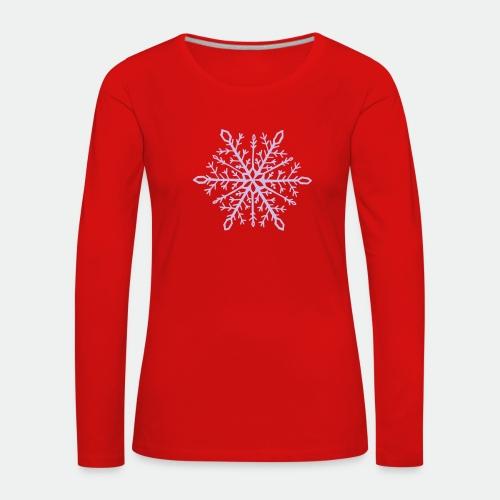 Snowflake mandala - Women's Premium Longsleeve Shirt