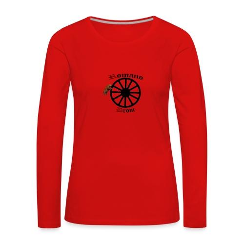 626878 2406580 lennyromanodromutanbakgrundsvartbjo - Långärmad premium-T-shirt dam