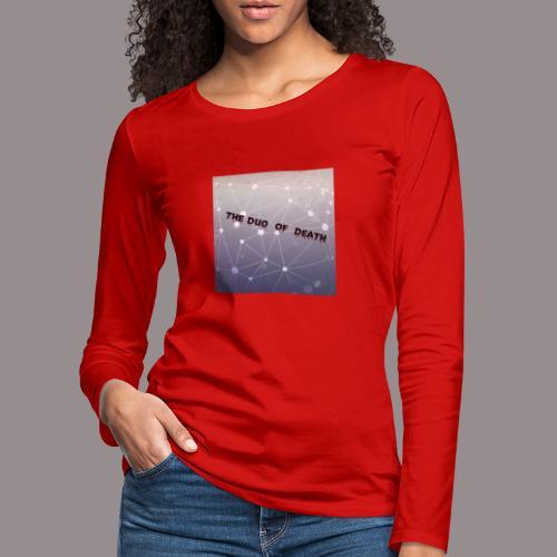 The duo of death logo - Vrouwen Premium shirt met lange mouwen