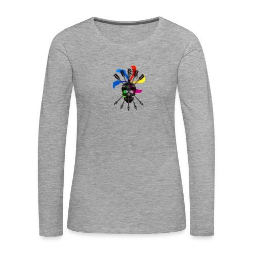 Blaky corporation - Camiseta de manga larga premium mujer