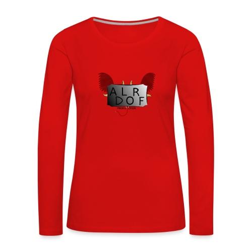 Adlorf - Koszulka damska Premium z długim rękawem