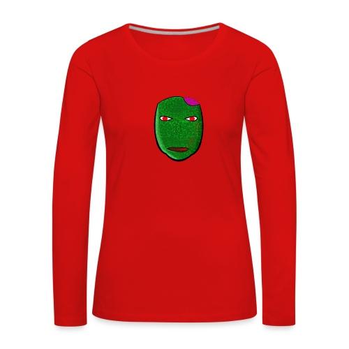 DELIVE - Koszulka damska Premium z długim rękawem