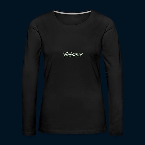 camicia di flofames - Maglietta Premium a manica lunga da donna