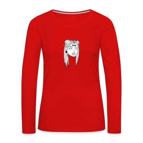 Deep - Girl - Maglietta Premium a manica lunga da donna