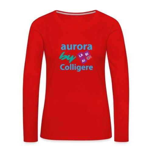 Aurora by Colligere - Premium langermet T-skjorte for kvinner
