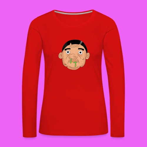 Fat boy - Camiseta de manga larga premium mujer