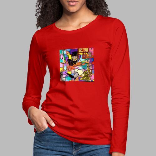 Vunky Vresh Vantastic - Vrouwen Premium shirt met lange mouwen