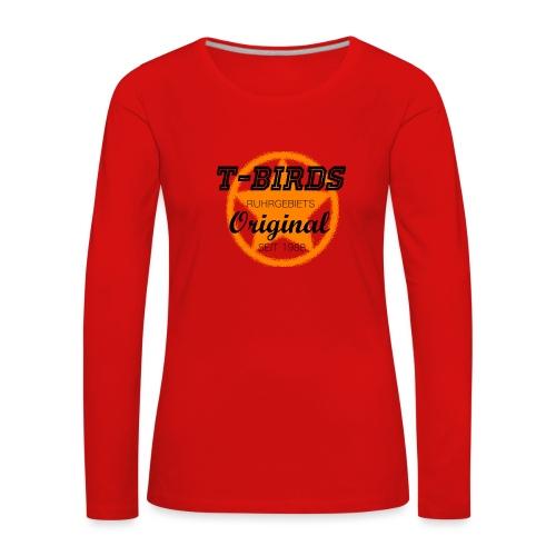 T-Birds1988 - hell - Frauen Premium Langarmshirt