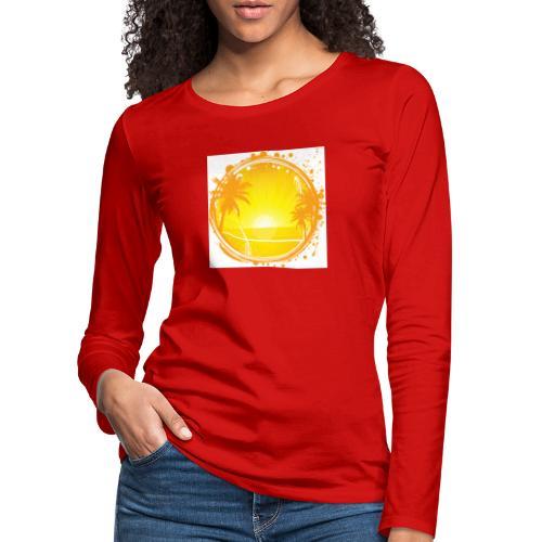 Sunburn - Women's Premium Longsleeve Shirt