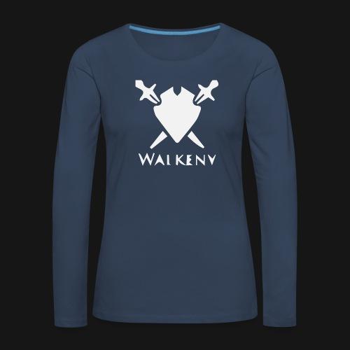 Walkeny Schwert Logo! - Frauen Premium Langarmshirt