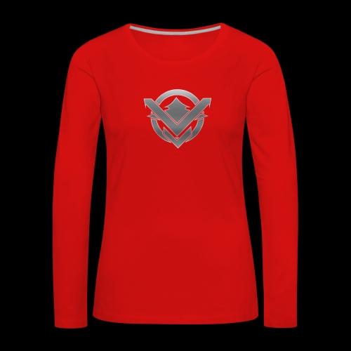 SVN Arts logo - Vrouwen Premium shirt met lange mouwen