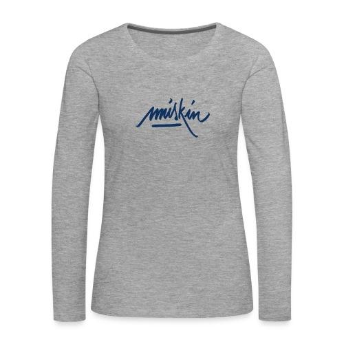 T-Shirt Miskin - T-shirt manches longues Premium Femme