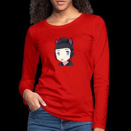 HoneyZunge - Frauen Premium Langarmshirt