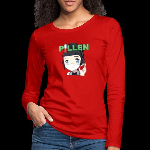 Honey Pillen - Frauen Premium Langarmshirt