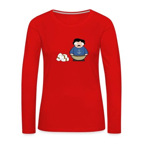 Pablito. - Camiseta de manga larga premium mujer