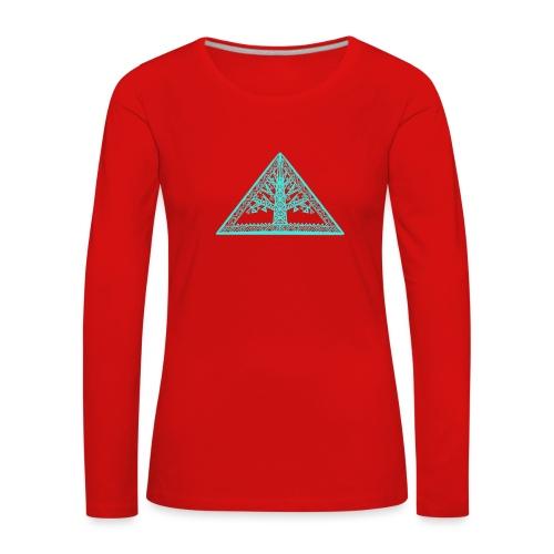 Lebensbaum - Frauen Premium Langarmshirt