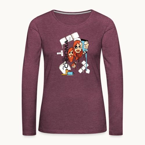 Chroma - T-shirt manches longues Premium Femme