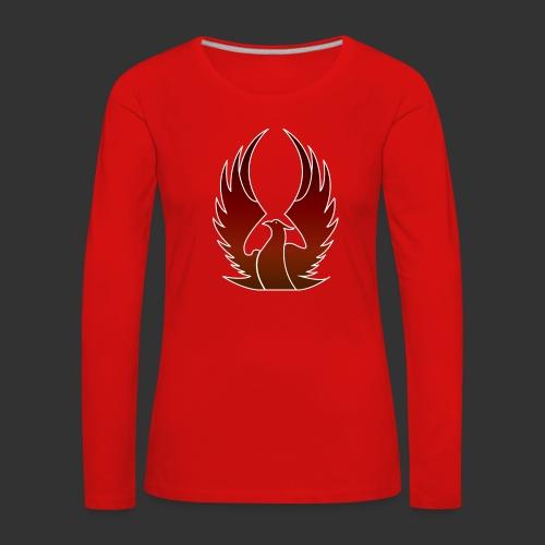 Phenix on fire - T-shirt manches longues Premium Femme