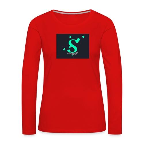 skitterYT - Långärmad premium-T-shirt dam