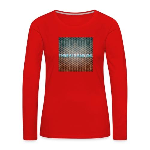 TheRayGames Merch - Women's Premium Longsleeve Shirt