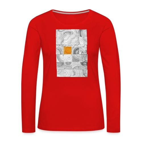 Cubes de Bois - T-shirt manches longues Premium Femme