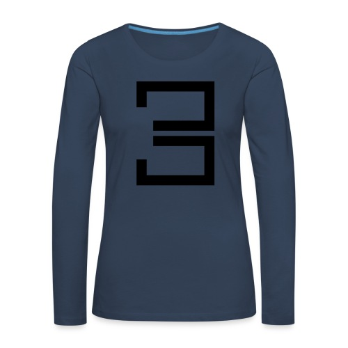 3 - Women's Premium Longsleeve Shirt