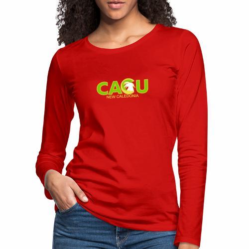 Cagu New caledonia - T-shirt manches longues Premium Femme