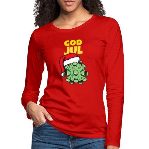 God jul - Premium langermet T-skjorte for kvinner