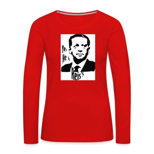 Erdogan - T-shirt manches longues Premium Femme