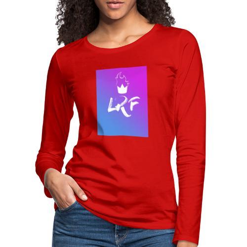 LRF rectangle - T-shirt manches longues Premium Femme