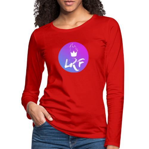 LRF rond - T-shirt manches longues Premium Femme