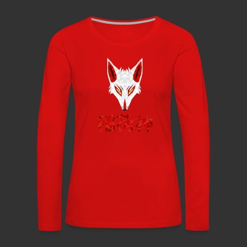 Inari Fox (稲荷神) - T-shirt manches longues Premium Femme