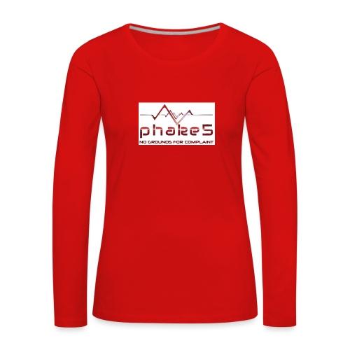 logo - Långärmad premium-T-shirt dam