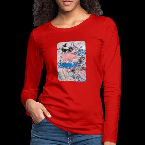Emelie Kunstwerk V. - Frauen Premium Langarmshirt