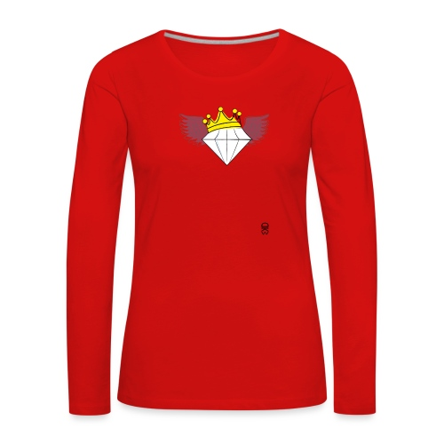 King Diamond Wings - Women's Premium Longsleeve Shirt