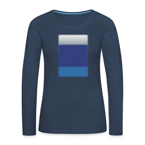 Background @BGgraphic - Dame premium T-shirt med lange ærmer