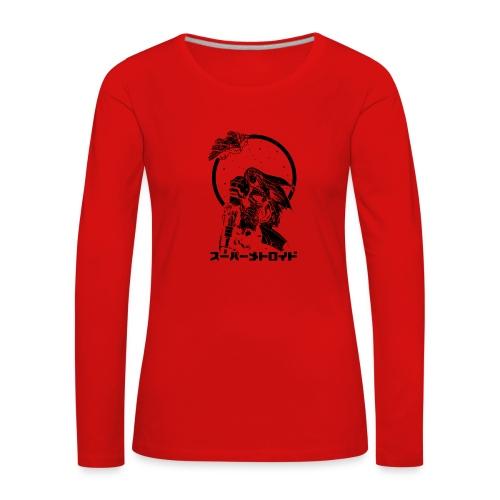 Interstellar Bounty Hunter - Naisten premium pitkähihainen t-paita