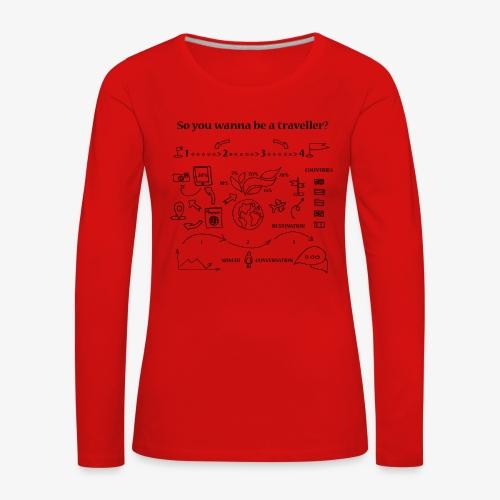 nomad - Women's Premium Longsleeve Shirt