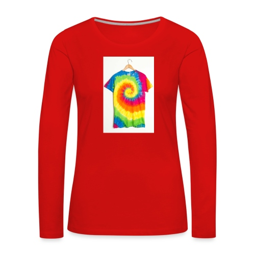 tie die small merch - Women's Premium Longsleeve Shirt