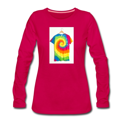 tie die small merch - Women's Premium Longsleeve Shirt